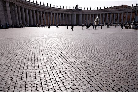 St Peter's Square, Vatican, Rome, Latium, Italy Stock Photo - Rights-Managed, Code: 700-02757493