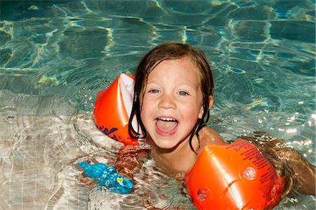 Girl Swimming Stock Photo - Rights-Managed, Code: 700-02786761