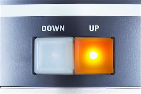 Down and Up Buttons Stock Photo - Rights-Managed, Code: 700-02801086
