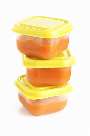 Organic Carrot Baby Food Stock Photo - Rights-Managed, Code: 700-02833204