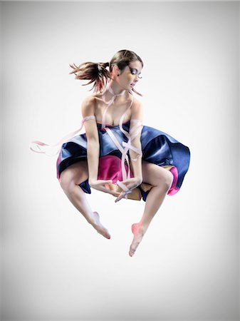 Portrait of Dancer Stock Photo - Rights-Managed, Code: 700-02833505