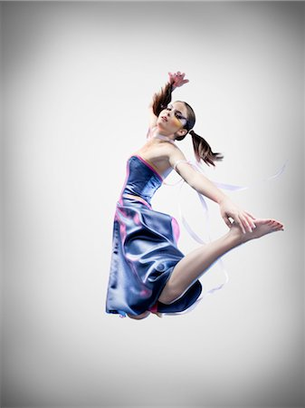 Portrait of Dancer Stock Photo - Rights-Managed, Code: 700-02833507