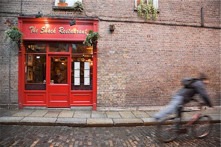 european bar building - The Shack Restaurant, Temple Bar, Dublin, Ireland Stock Photo - Rights-Managed, Code: 700-02860185