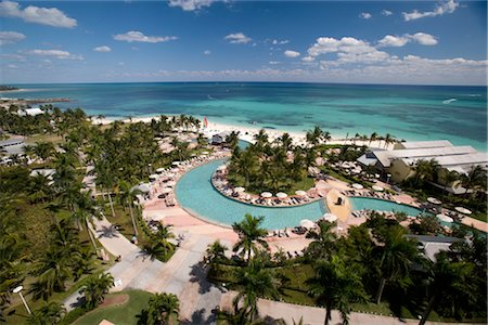 Overview of Hotel, Grand Bahama Island, Bahamas Stock Photo - Rights-Managed, Code: 700-02887325