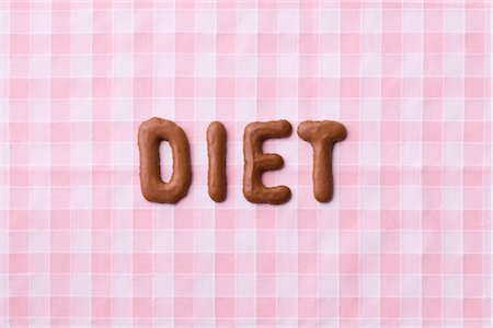 Cookies Spelling Diet Stock Photo - Rights-Managed, Code: 700-02903782
