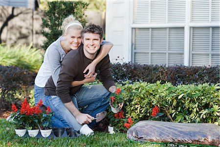 Couple Gardening Stock Photo - Rights-Managed, Code: 700-02912037