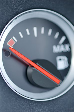 Fuel Gauge Stock Photo - Rights-Managed, Code: 700-02912536