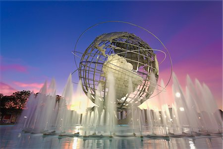 Unisphere, Flushing Meadows Park, Queens, New York, New York, USA Stock Photo - Rights-Managed, Code: 700-02912867