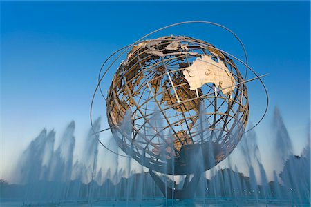 Unisphere, Flushing Meadows Park, Queens, New York, New York, USA Stock Photo - Rights-Managed, Code: 700-02912868