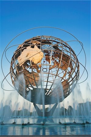 Unisphere, Flushing Meadows Park, Queens, New York, New York, USA Stock Photo - Rights-Managed, Code: 700-02912869