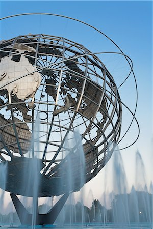 Unisphere, Flushing Meadows Park, Queens, New York, New York, USA Stock Photo - Rights-Managed, Code: 700-02912870