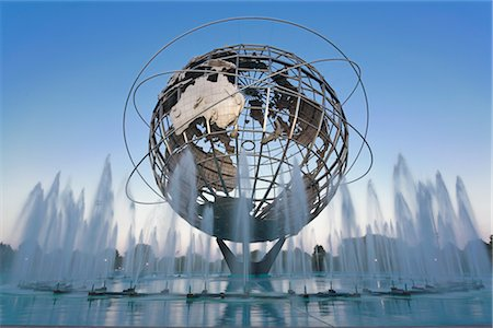 Unisphere, Flushing Meadows Park, Queens, New York, New York, USA Stock Photo - Rights-Managed, Code: 700-02912871
