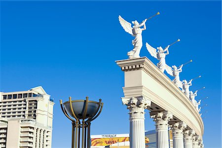 Statues at Caesar's Palace Hotel and Casino, Paradise, Las Vegas, Nevada, USA Stock Photo - Rights-Managed, Code: 700-02913165
