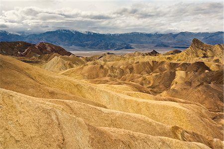 Zabriskie Point, Death Valley National Park, California, USA Stock Photo - Rights-Managed, Code: 700-02913196