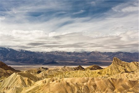 Zabriskie Point, Death Valley National Park, California, USA Stock Photo - Rights-Managed, Code: 700-02913197