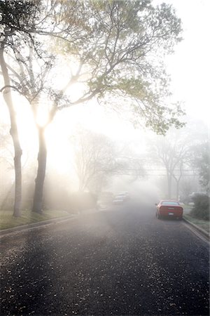 Morning Fog Over Neighbourhood Stock Photo - Rights-Managed, Code: 700-02922837
