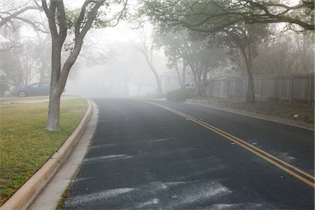 Morning Fog Over Neighbourhood Stock Photo - Rights-Managed, Code: 700-02922844