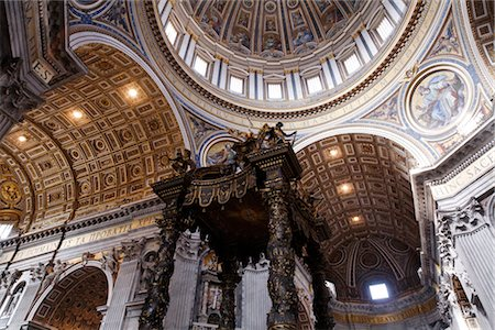 St Peter's Basilica, Vatican City, Rome, Italy Stock Photo - Rights-Managed, Code: 700-02935405