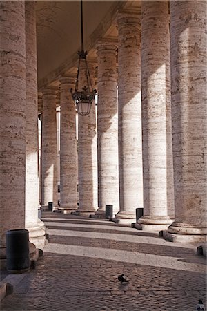 St Peter's Square, Vatican City, Rome, Italy Stock Photo - Rights-Managed, Code: 700-02935407
