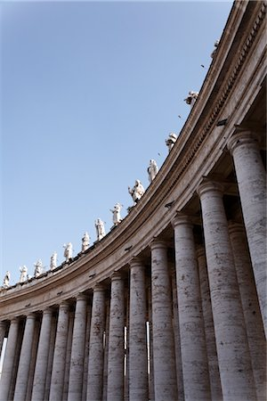 St Peter's Square, Vatican City, Rome, Italy Stock Photo - Rights-Managed, Code: 700-02935400