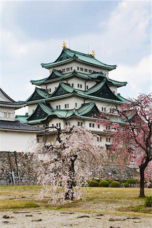 Nagoya Castle, Nagoya, Aichi Prefecture, Chubu Region, Honshu, Japan Stock Photo - Rights-Managed, Code: 700-02935620