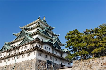 Nagoya Castle, Nagoya, Aichi Prefecture, Chubu Region, Honshu, Japan Stock Photo - Rights-Managed, Code: 700-02935622