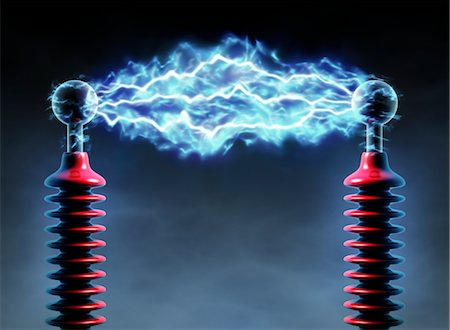 spark - Electrical Charge Stock Photo - Rights-Managed, Code: 700-02935704
