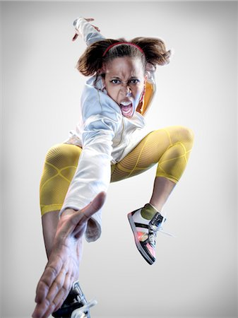 Portrait of Breakdancer Stock Photo - Rights-Managed, Code: 700-02935845