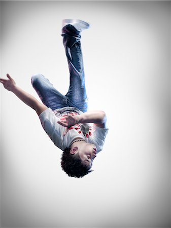 Portrait of Breakdancer Stock Photo - Rights-Managed, Code: 700-02935847