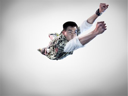 Portrait of Breakdancer Stock Photo - Rights-Managed, Code: 700-02935849