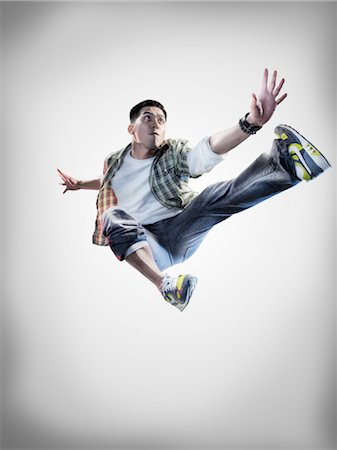 Portrait of Breakdancer Stock Photo - Rights-Managed, Code: 700-02935842