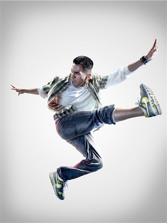 Portrait of Breakdancer Stock Photo - Rights-Managed, Code: 700-02935843