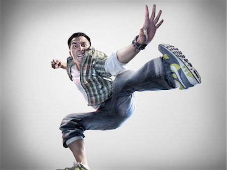 Portrait of Breakdancer Stock Photo - Rights-Managed, Code: 700-02935850