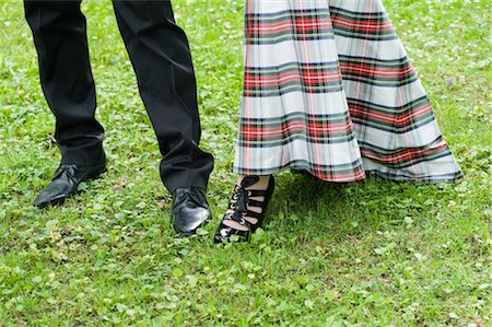 Feet of Bride and Groom Stock Photo - Rights-Managed, Code: 700-02943292