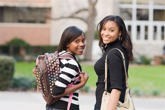 Portrait of College Students Stock Photo - Premium Rights-Managed, Artist: Kevin Dodge, Image code: 700-02957630