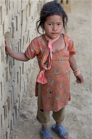 Little Girl in Chapagaon, Nepal Stock Photo - Rights-Managed, Code: 700-02957844