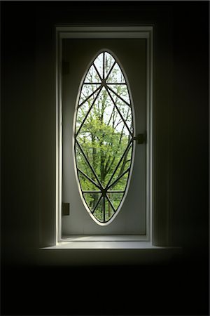 Old Oval Window Stock Photo - Rights-Managed, Code: 700-02967592
