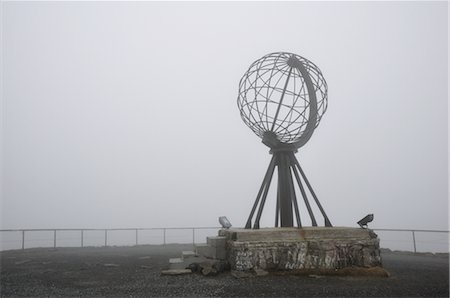 Globe Monument at Nordkapp, Norway Stock Photo - Rights-Managed, Code: 700-02967691