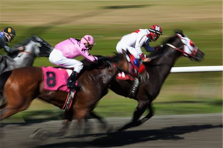 Horse Racing Stock Photo - Rights-Managed, Code: 700-02972805