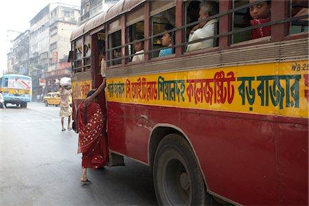 Street Scene, Kolkata, West Bengal, India Stock Photo - Rights-Managed, Code: 700-02973021