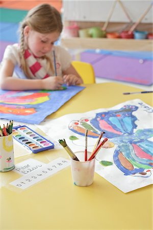 Student in Art Class Stock Photo - Rights-Managed, Code: 700-02989967