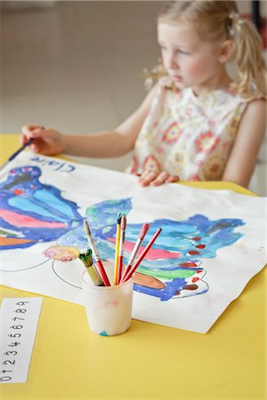 Student in Art Class Stock Photo - Rights-Managed, Code: 700-02989968