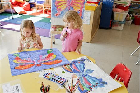 Students in Art Class Stock Photo - Rights-Managed, Code: 700-02989962