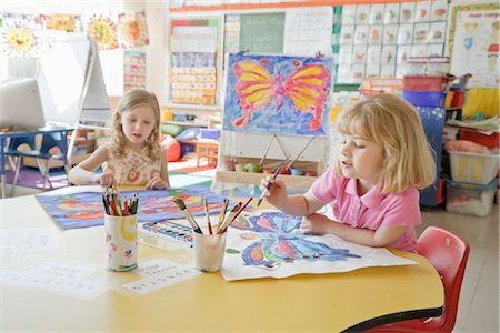 Students in Art Class Stock Photo - Rights-Managed, Code: 700-02989963