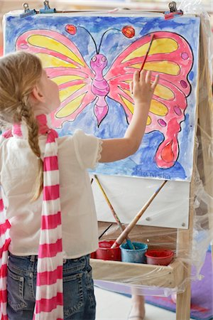 Student in Art Class Stock Photo - Rights-Managed, Code: 700-02989974