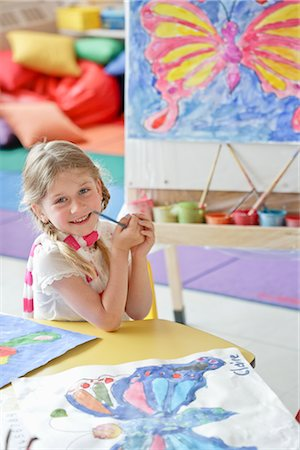 Student in Art Class Stock Photo - Rights-Managed, Code: 700-02989970