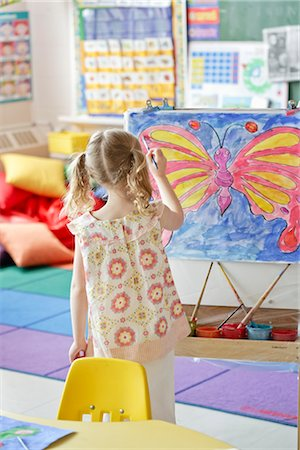 Student in Art Class Stock Photo - Rights-Managed, Code: 700-02989971