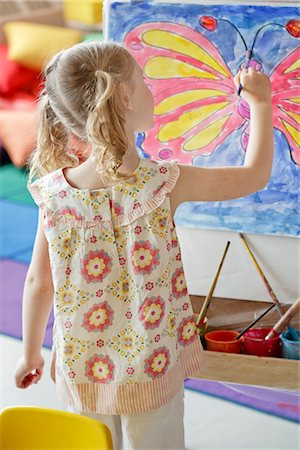 Student in Art Class Stock Photo - Rights-Managed, Code: 700-02989972