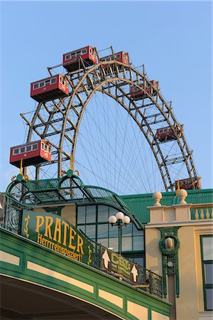 dpruter - Ferris Wheel, Prater, Vienna, Austria Stock Photo - Rights-Managed, Code: 700-02990039