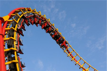 dpruter - Roller-coaster, Prater, Vienna, Austria Stock Photo - Rights-Managed, Code: 700-02990048